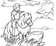 Coloriage et dessins gratuit Excalibur maternelle à imprimer
