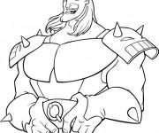 Coloriage et dessins gratuit Excalibur Personnage à imprimer