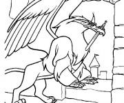 Coloriage et dessins gratuit l'épée magique dessin à imprimer