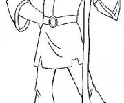 Coloriage et dessins gratuit Rubber Excalibur Personnage à imprimer