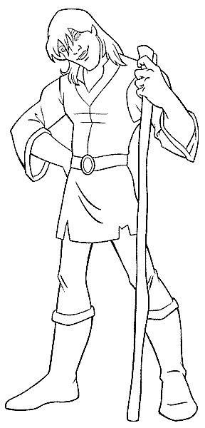 Coloriage et dessins gratuits Rubber Excalibur Personnage à imprimer