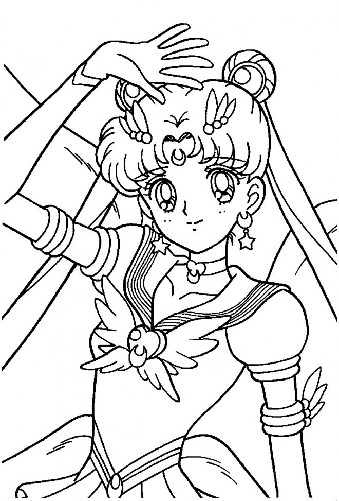 Coloriage Fille A Imprimer Princesse.Coloriage Fille Manga Princesse Dessin Gratuit A Imprimer