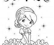 Coloriage et dessins gratuit Fraisinette à imprimer à imprimer