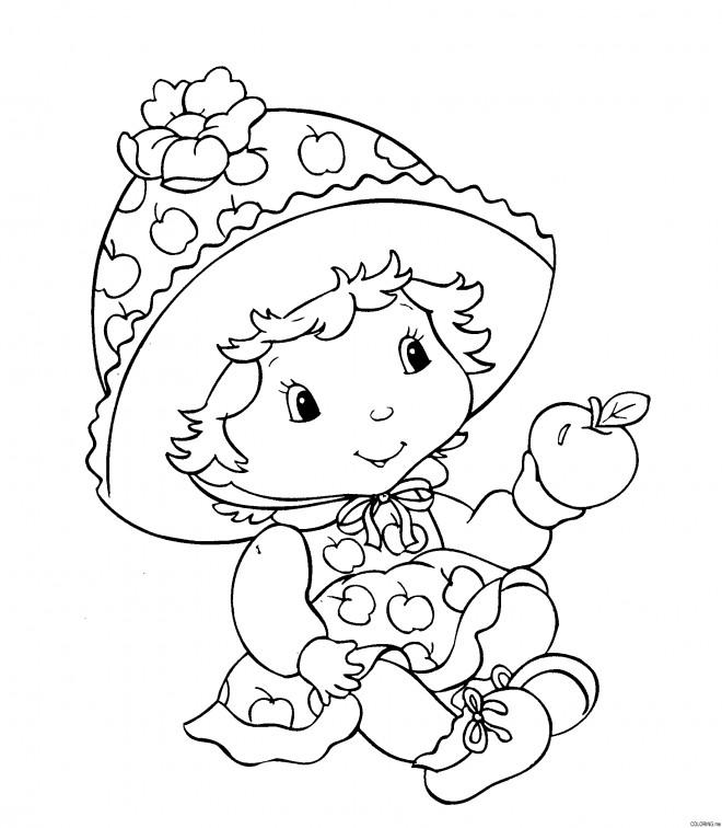 Coloriage et dessins gratuits Fraisinette bébé à imprimer