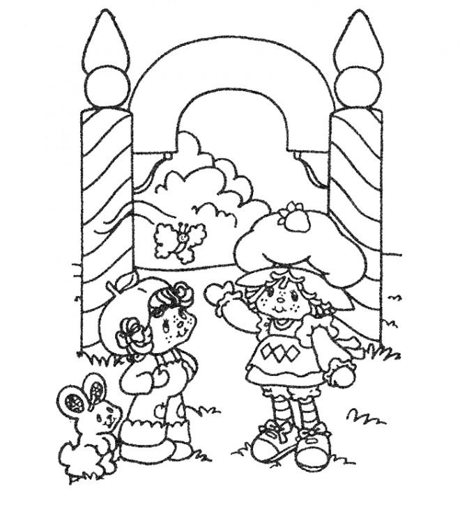 Coloriage et dessins gratuits Fraisinette coloriage imprimer à imprimer