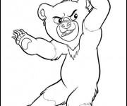 Coloriage dessin  Frere des Ours 16