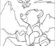 Coloriage dessin  Frere des Ours 2