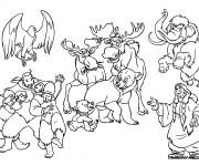 Coloriage Frère des ours Disney