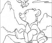 Coloriage et dessins gratuit Frère des Ours en couleur à imprimer