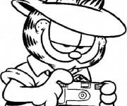 Coloriage dessin  Garfield 16