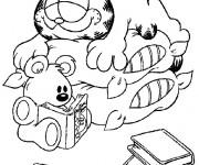 Coloriage dessin  Garfield 5