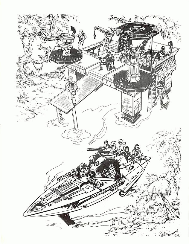 Coloriage et dessins gratuits GI-Joe à télécharger gratuitement à imprimer