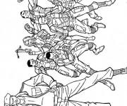 Coloriage et dessins gratuit GI-Joe Cobra stuff à imprimer