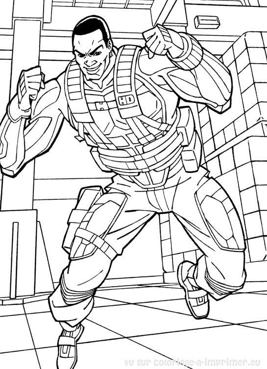Coloriage et dessins gratuits GI-Joe dessin à colorier à imprimer