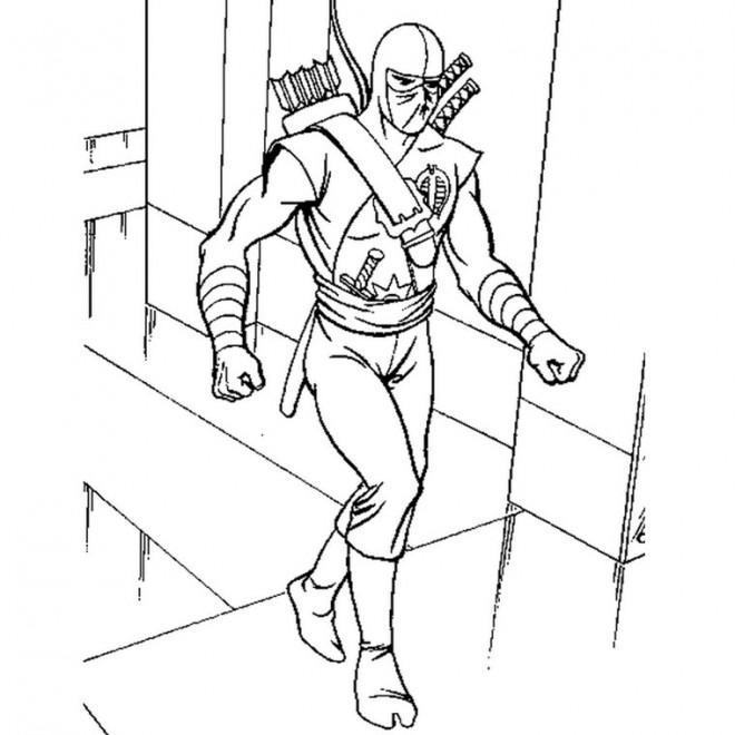Coloriage et dessins gratuits GI-Joe gratuit à imprimer