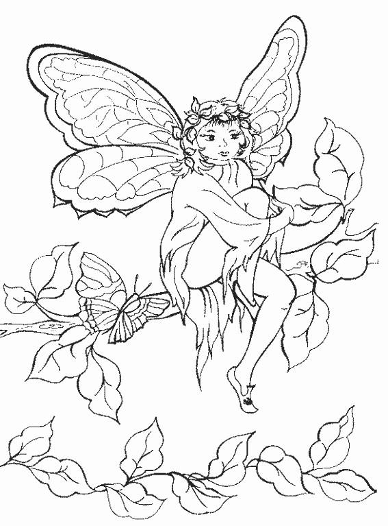 Coloriage et dessins gratuits Dessin d'Elfe facile à imprimer