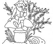Coloriage dessin  Gnomes 15