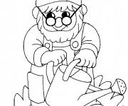 Coloriage dessin  Gnomes 18