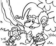 Coloriage dessin  Gnomes 2