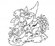 Coloriage dessin  Gnomes 8