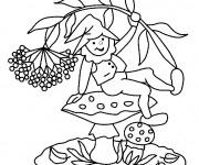 Coloriage et dessins gratuit Gnomes facile à téléchrger à imprimer