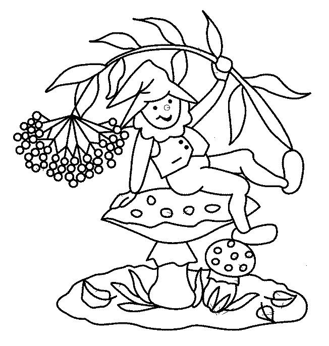 Coloriage et dessins gratuits Gnomes facile à téléchrger à imprimer