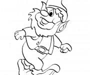Coloriage et dessins gratuit Gnomes portrait en ligne à imprimer