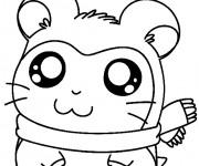 Coloriage et dessins gratuit Hamtaro 1 à imprimer