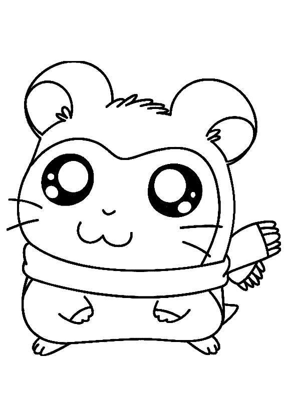 Coloriage et dessins gratuits Hamtaro 1 à imprimer