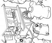 Coloriage et dessins gratuit Hamtaro à imprimer à imprimer