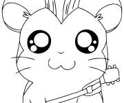 Coloriage et dessins gratuit Hamtaro Babos gratuit à imprimer