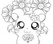 Coloriage et dessins gratuit Hamtaro Bijou à imprimer