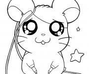 Coloriage et dessins gratuit Hamtaro en ligne à imprimer