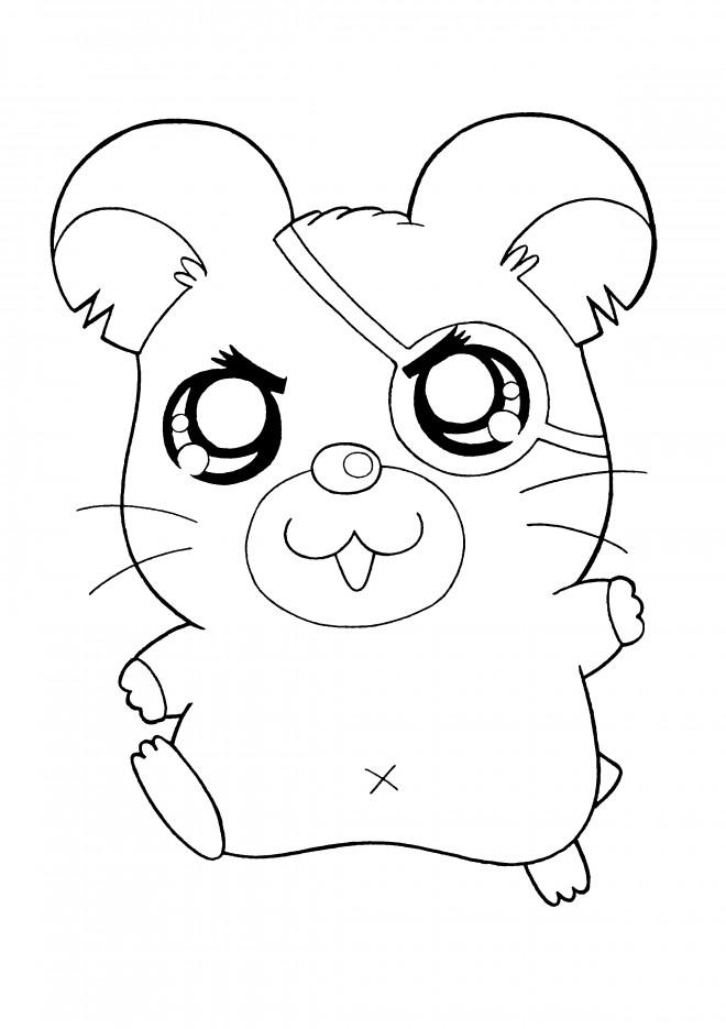 Coloriage et dessins gratuits Hamtaro en ligne gratuit à imprimer