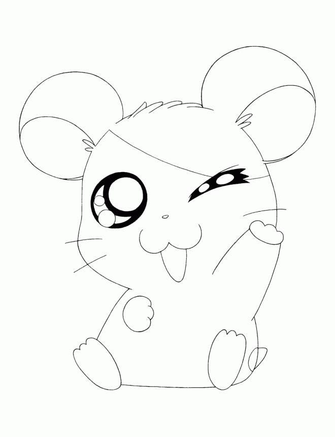 Coloriage et dessins gratuits Hamtaro gratuit à colorier à imprimer