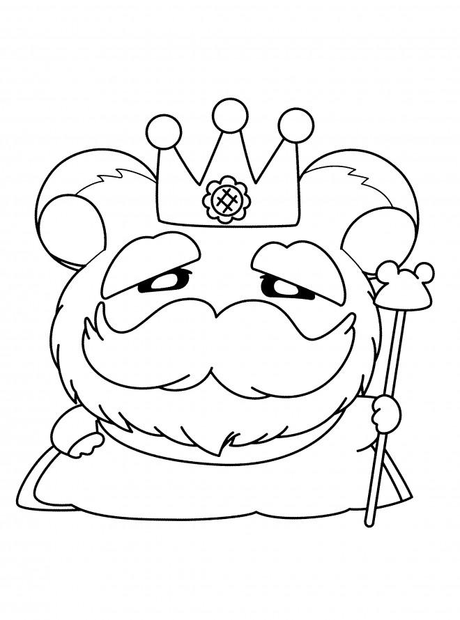 Coloriage et dessins gratuits Hamtaro gratuit en ligne à imprimer