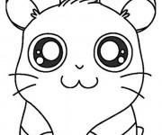 Coloriage L'adorable Hamtaro