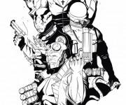 Coloriage dessin  Hellboy 12