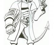 Coloriage dessin  Hellboy 2