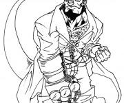 Coloriage et dessins gratuit Hellboy dessin à imprimer