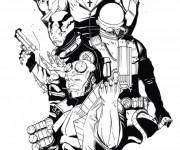 Coloriage et dessins gratuit Hellboy en ligne à imprimer