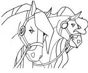 Coloriage et dessins gratuit Horseland à imprimer