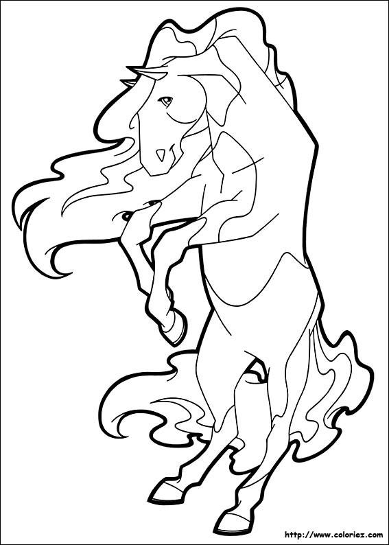 Coloriage et dessins gratuits Horseland 2 à imprimer