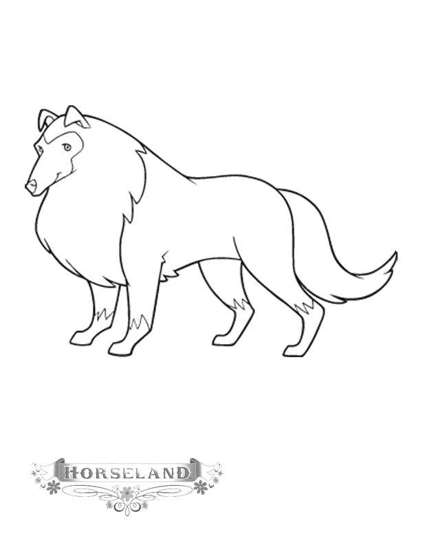 Coloriage et dessins gratuits Horseland 3 à imprimer