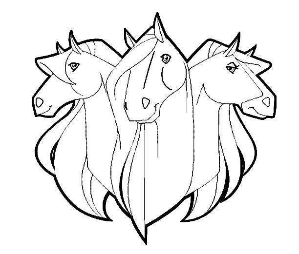 Coloriage et dessins gratuits Horseland 32 à imprimer