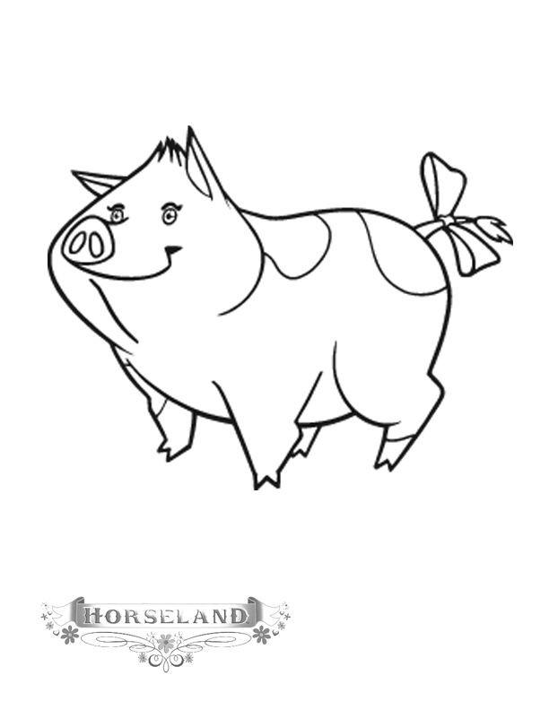 Coloriage et dessins gratuits Horseland à colorier à imprimer