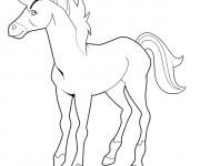 Coloriage dessin  Horseland à imprimer