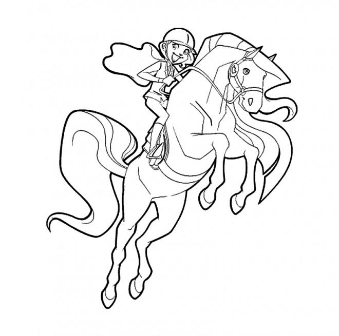 Coloriage et dessins gratuits Horseland à imprimer gratuit à imprimer