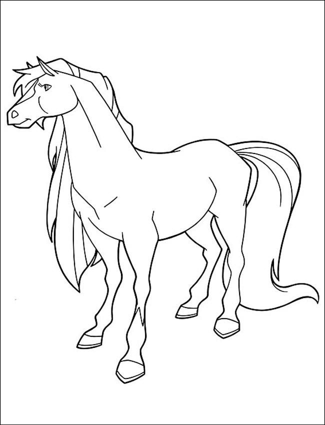 Coloriage et dessins gratuits Horseland Apache à imprimer