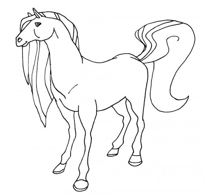 Coloriage et dessins gratuits Horseland Bienvenue ranch à imprimer